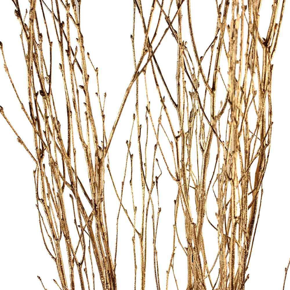Decorative Branches Goldleaf Birch Branches