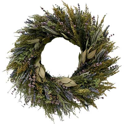Fragrant Flora Wreath - Fragrant Dried Wreath