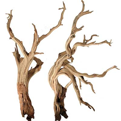 "Mountain Driftwood Branches, 10"" up to 96"""